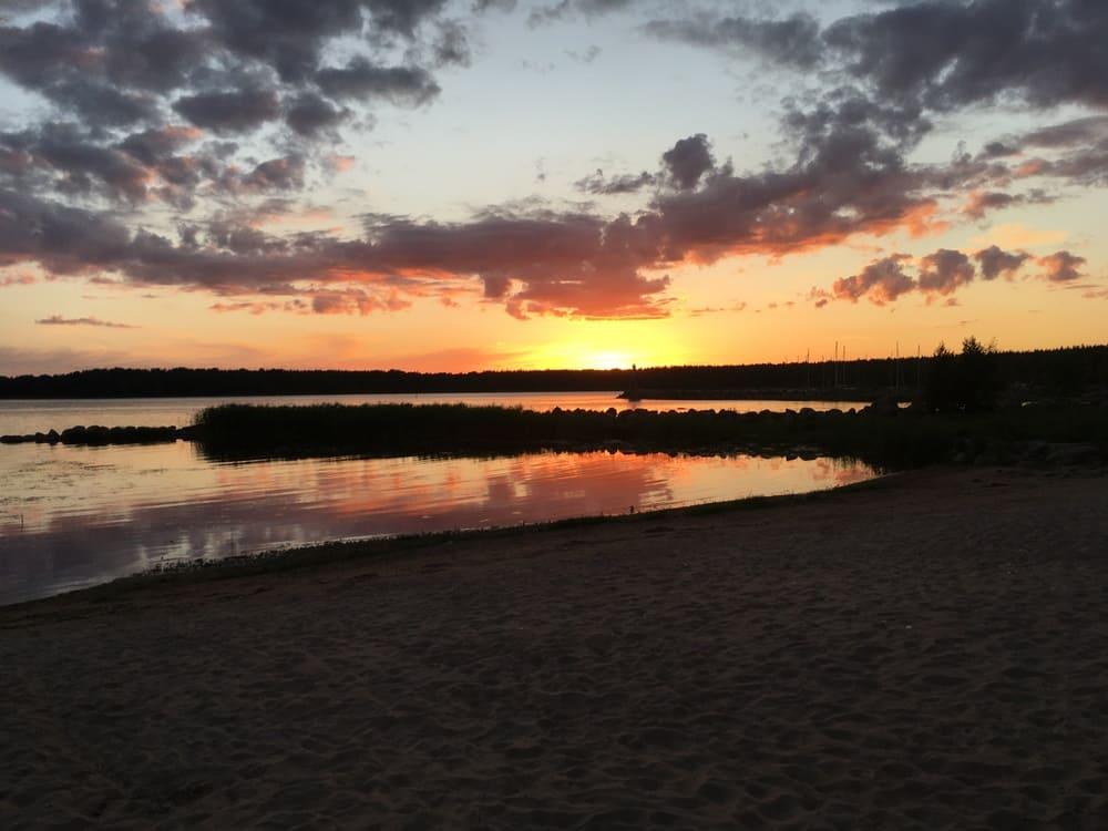 Закат в Окуневой, Приморск